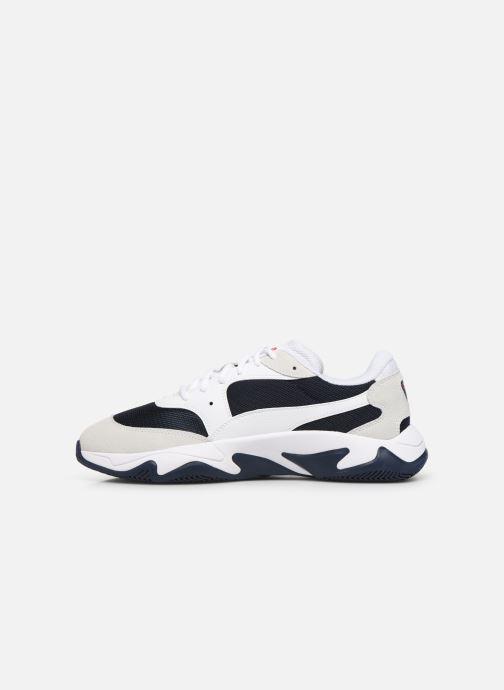 Sneakers Puma Storm Adrenaline H Wit voorkant