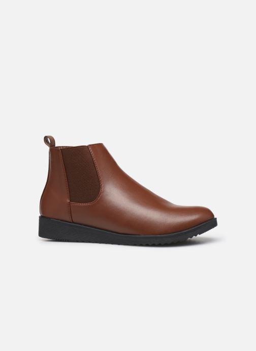 Bottines et boots Isotoner Chelsea Marron vue derrière