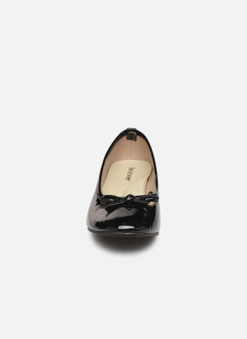 Isotoner Ballerine vernie talon 3cm (Noir) - Ballerines (395744)