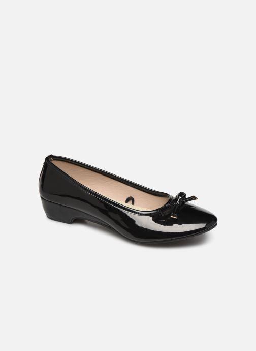Isotoner Ballerine Vernie Talon 3cm (negro) - Bailarinas Chez