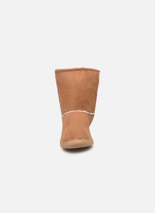 Bottines et boots Isotoner Chaussures EveryWear Marron vue portées chaussures