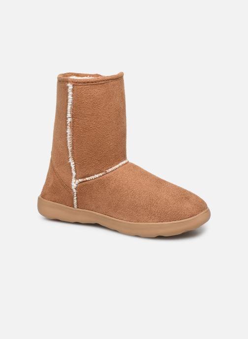 Bottines et boots Isotoner Chaussures EveryWear Marron vue détail/paire