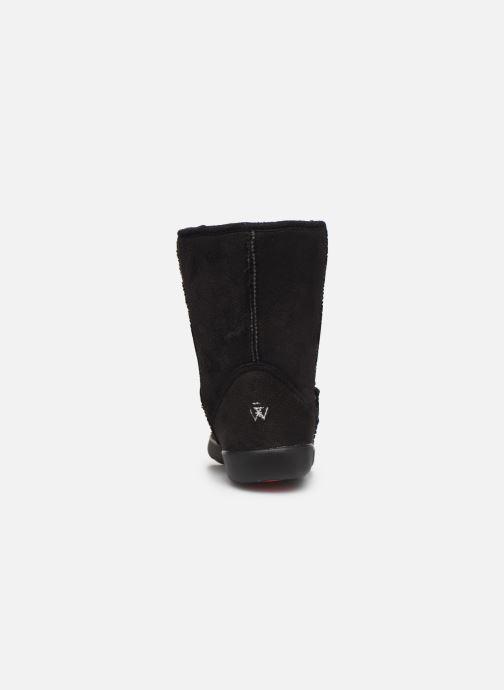 Bottines et boots Isotoner Chaussures EveryWear Noir vue droite