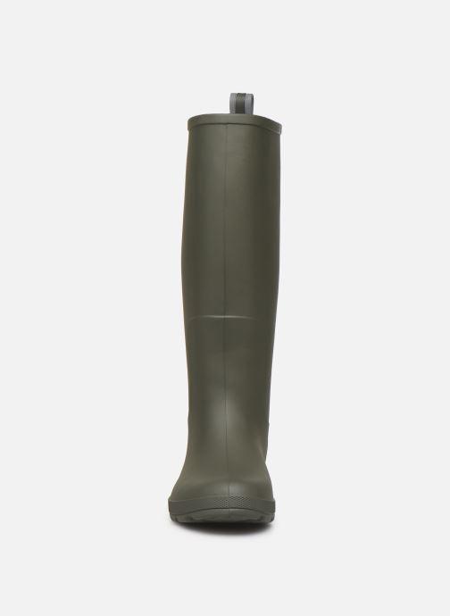 Botas Isotoner Bottes de pluie hautes W Verde vista del modelo