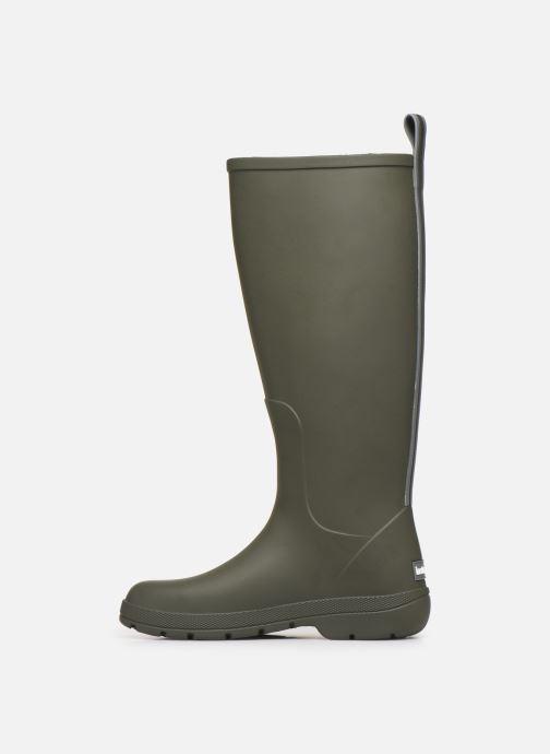 Boots & wellies Isotoner Bottes de pluie hautes W Green front view