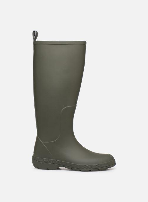 Boots & wellies Isotoner Bottes de pluie hautes W Green back view