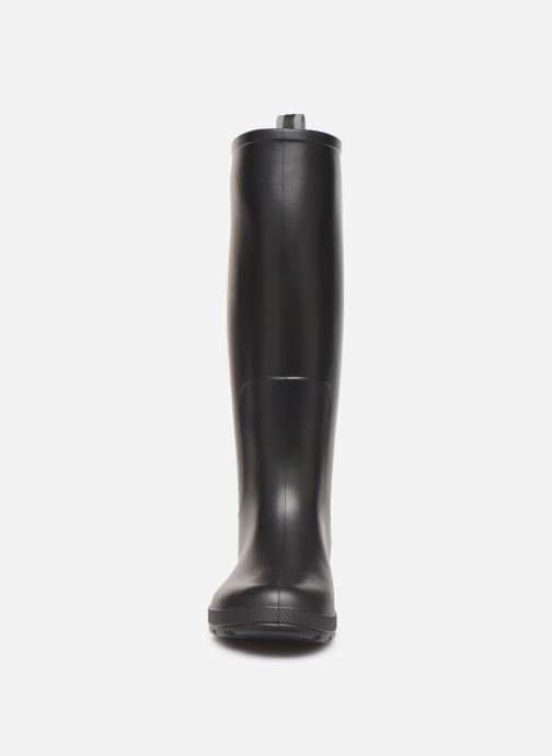 Bottes Isotoner Bottes de pluie hautes W Noir vue portées chaussures