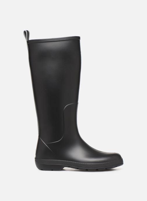 Bottes Isotoner Bottes de pluie hautes Noir vue derrière