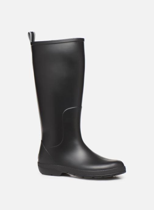 Laarzen Isotoner Bottes de pluie hautes Zwart detail