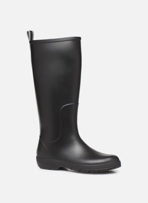 Bottes Isotoner Bottes de pluie hautes W Noir vue détail/paire