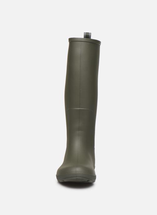 Bottes Isotoner Bottes de pluie hautes Vert vue portées chaussures