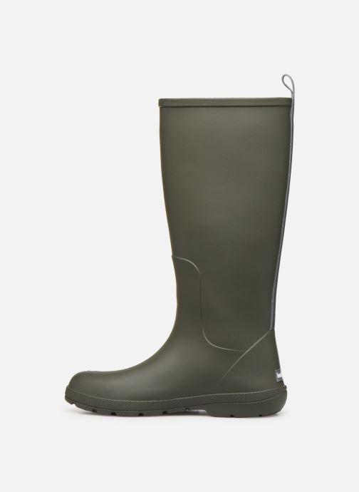 Bottes Isotoner Bottes de pluie hautes Vert vue face