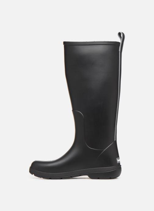 Støvler & gummistøvler Isotoner Bottes de pluie hautes Sort se forfra