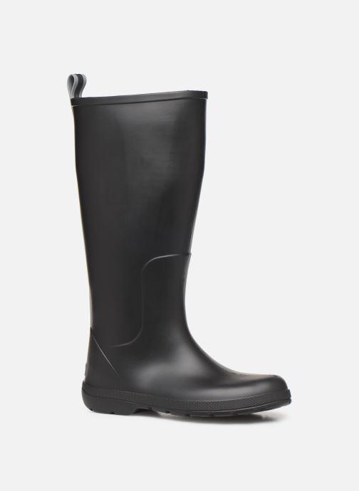 Bottes Isotoner Bottes de pluie hautes Noir vue détail/paire