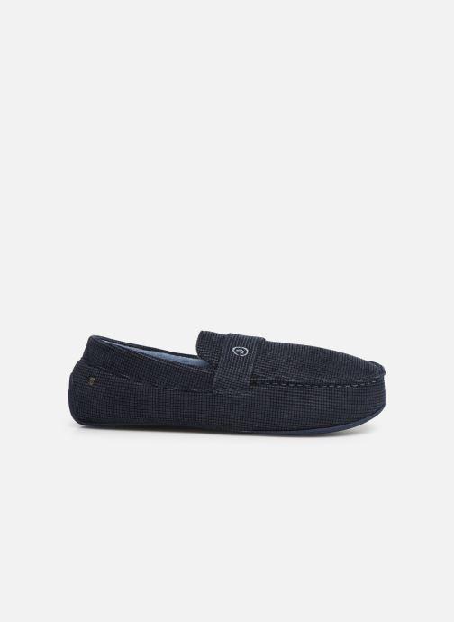 Pantofole Isotoner Mocassin surpiqures Azzurro immagine posteriore