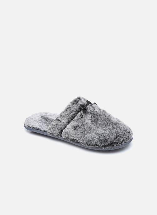 Pantoffels Dames Mule plate fourrure