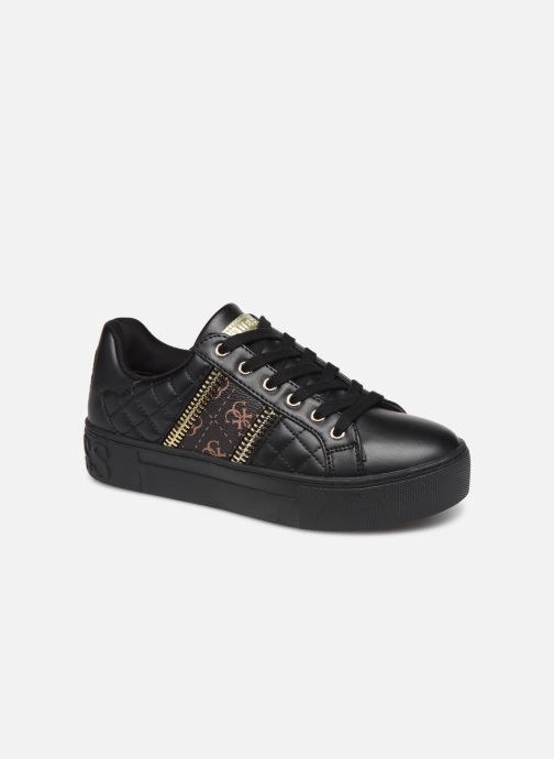 Baskets Guess FL8MAY Noir vue détail/paire