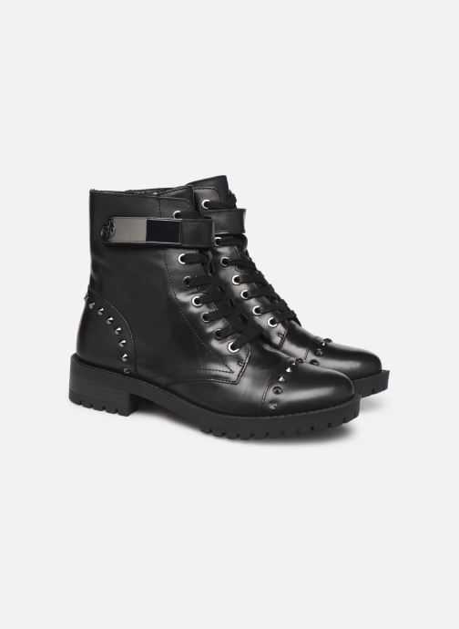 Bottines et boots Guess FL8HHILEA10 Noir vue 3/4