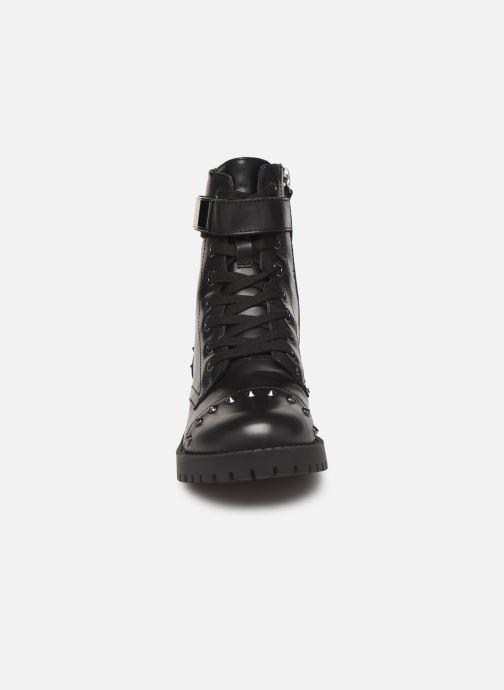 Bottines et boots Guess FL8HHILEA10 Noir vue portées chaussures