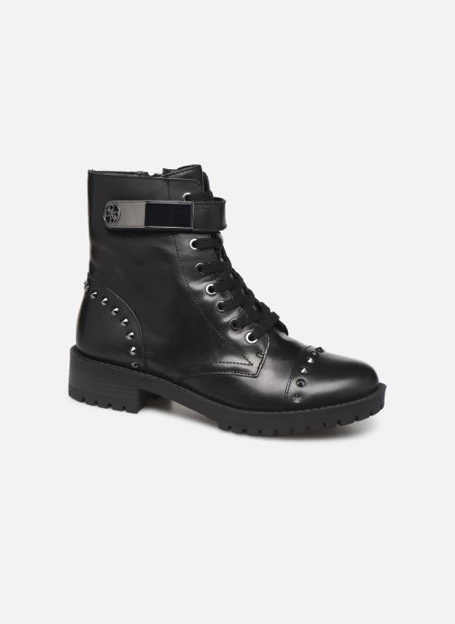 Ankle boots Guess FL8HHILEA10 Black detailed view/ Pair view