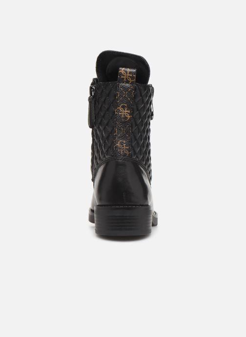 Boots en enkellaarsjes Guess FL8BEGFAL10 Zwart achterkant