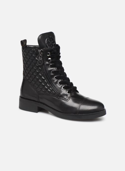 Ankle boots Guess FL8BEGFAL10 Black detailed view/ Pair view