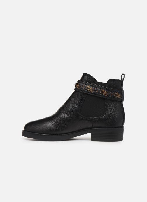 Boots en enkellaarsjes Guess FL8BATFAL10 Bruin voorkant