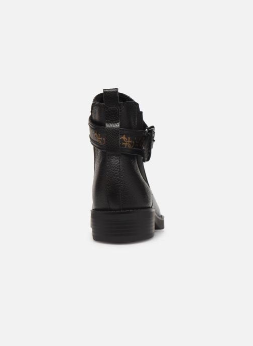 Ankle boots Guess FL8BATFAL10 Brown view from the right