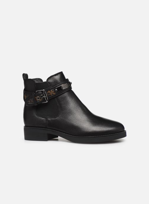 Ankle boots Guess FL8BATFAL10 Brown back view