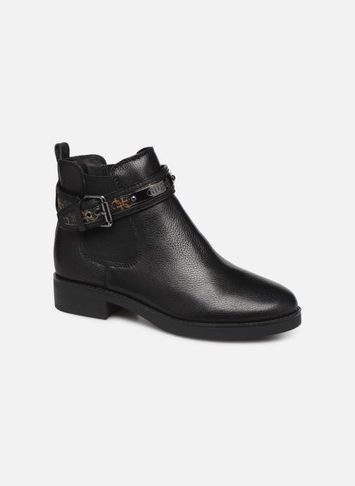 Ankle boots Guess FL8BATFAL10 Brown detailed view/ Pair view
