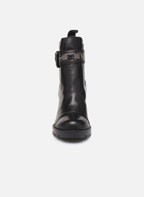 Bottines et boots Guess FL8RAFFAL10 Noir vue portées chaussures