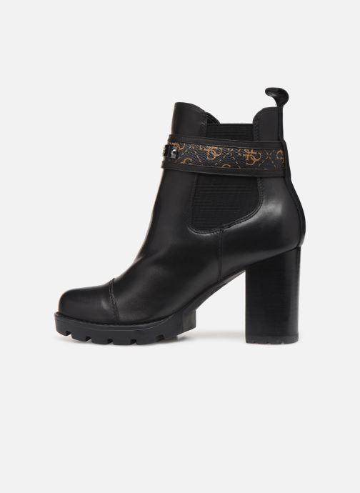 Bottines et boots Guess FL8RAFFAL10 Noir vue face