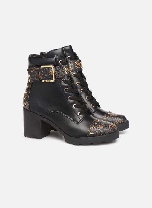 Bottines et boots Guess FL8ME2FAL10 Noir vue 3/4
