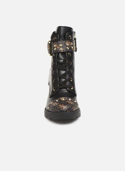 Stiefeletten & Boots Guess FL8ME2FAL10 schwarz schuhe getragen
