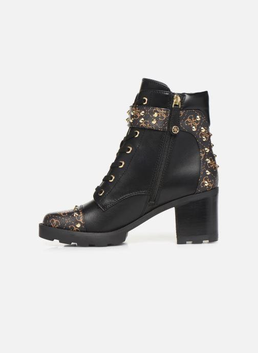 Bottines et boots Guess FL8ME2FAL10 Noir vue face