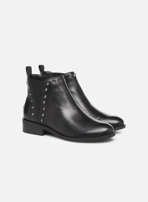 Ankle boots Guess FL8HUELEA09 Black 3/4 view
