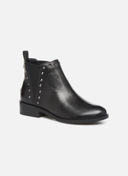 Ankle boots Guess FL8HUELEA09 Black detailed view/ Pair view