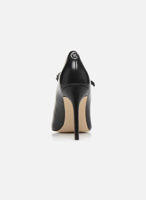 Zapatos de tacón Guess FL8BARLEA08 Negro vista lateral derecha