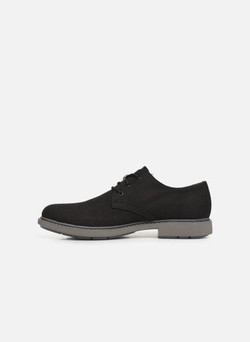 Chaussures à lacets Camper Neuman K100221 Noir vue face