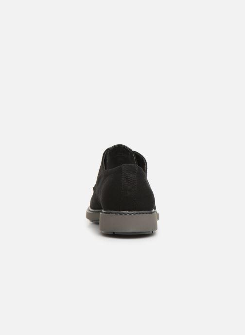 Zapatos con cordones Camper Neuman K100221 Negro vista lateral derecha
