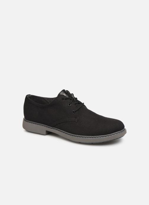 Chaussures à lacets Camper Neuman K100221 Noir vue détail/paire