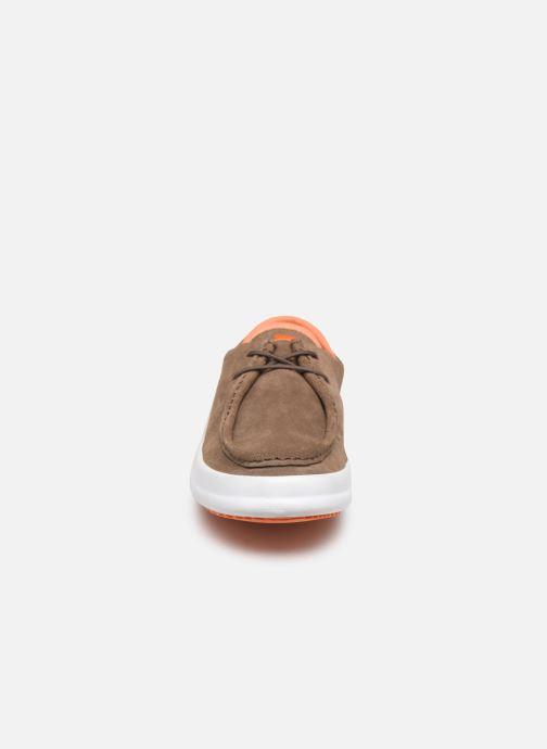 Sneaker Camper Chasis K100282 braun schuhe getragen