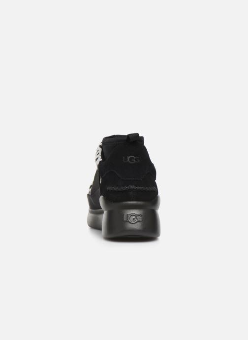Baskets UGG Neutra Sneaker Graffiti Pop Noir vue droite