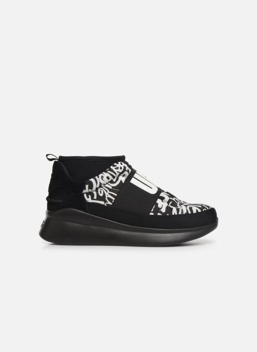Sneaker UGG Neutra Sneaker Graffiti Pop schwarz ansicht von hinten