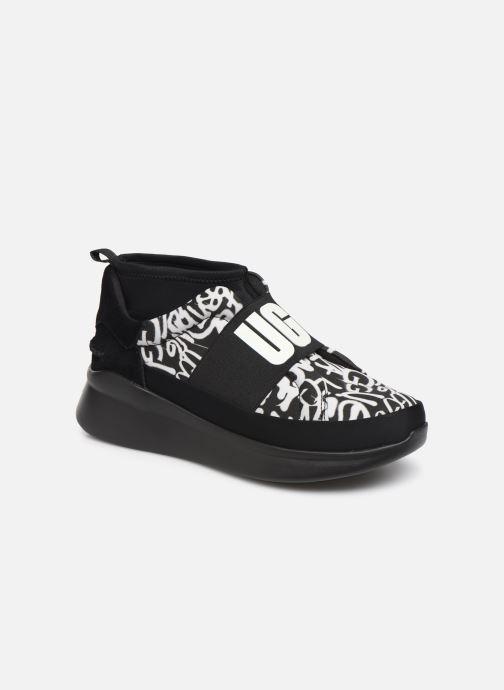 Baskets UGG Neutra Sneaker Graffiti Pop Noir vue détail/paire