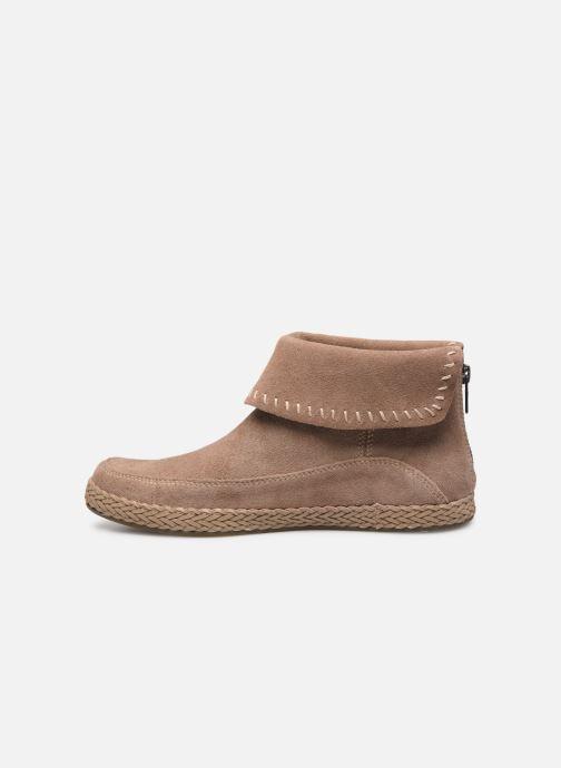 Bottines et boots UGG Varney Marron vue face