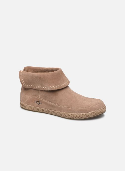Ankelstøvler UGG Varney Brun detaljeret billede af skoene