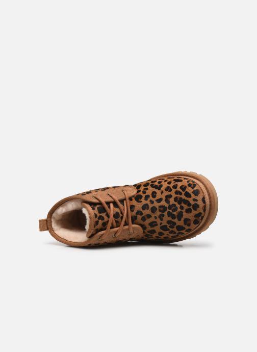Stiefeletten & Boots UGG Neumel W braun ansicht von links