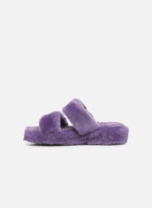 Chaussons UGG Fuzz Yeah Violet vue face