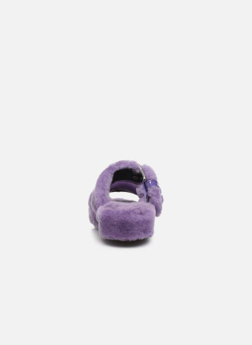 Chaussons UGG Fuzz Yeah Violet vue droite
